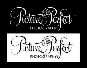 Black and white photography logo