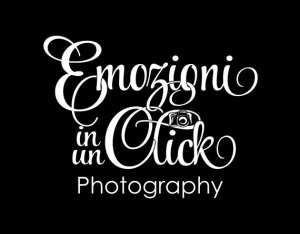 Photography logo in black and white