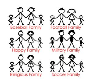 Family figure vector eps clipart