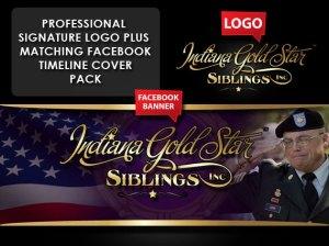 Logo and facebook timeline set